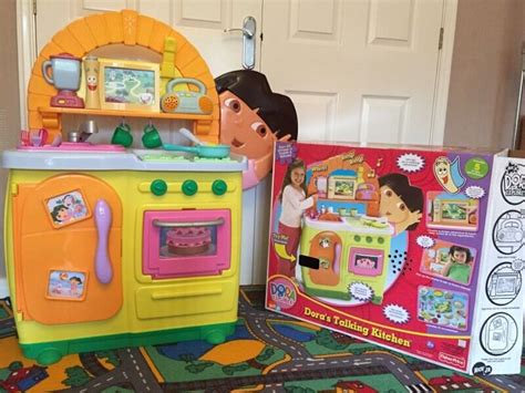 Fisher Price Dora's Talking Kitchen, Excellent Condition