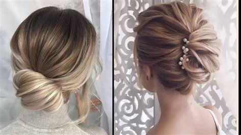 easy elegant updos  thin hair easy prom hairstyles
