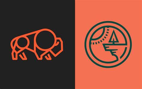 30 intricate monoline logo designs will make you inspire
