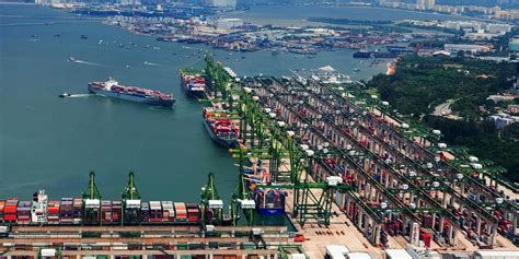 One To Operate Four Mega Container Berths At Port Of Singapore