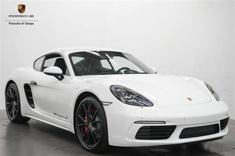 Top gear philippines reviews the porsche 718 cayman 2018. New 2018 Porsche 718 Cayman S Coupe 2dr Car in Tampa #183095 | Reeves Import Motorcars