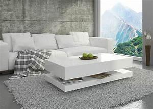 Weißer Couchtisch Hochglanz : couchtisch hochglanz wei wohnzimmer tisch beistelltisch kaffeetisch tora ebay ~ Orissabook.com Haus und Dekorationen