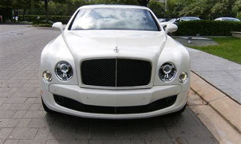 Bentley Mulsanne Hire Manchester