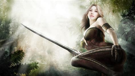 Fantasy Female Warrior Wallpapers (77+ Images
