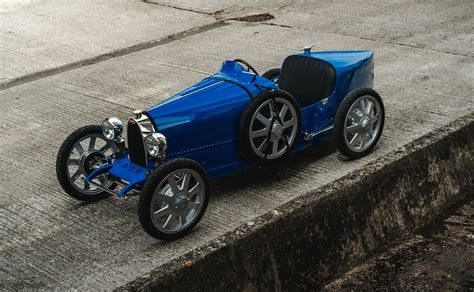 At the geneva motor show 2019. Bugatti Baby II - ένα ακριβό δώρο για μικρούς και μεγάλους | 4ΤΡΟΧΟΙ