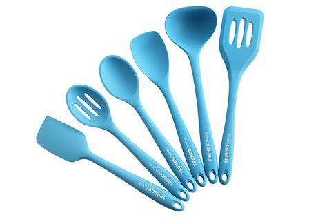 silicone utensils kitchen utensil cooking safe non stick pc