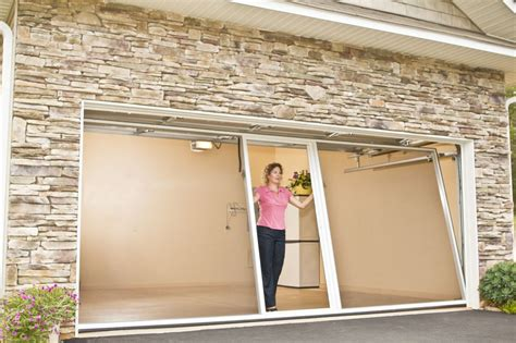 garage screen door garage door screens florida banko overhead doors