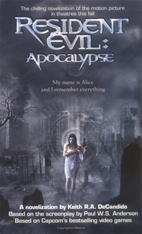 resident evil apocalypse  keith ra decandido