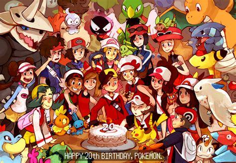 Say I Love You Anime Wallpaper Happy 20th Birthday Pokemon By Kayveedee On Deviantart