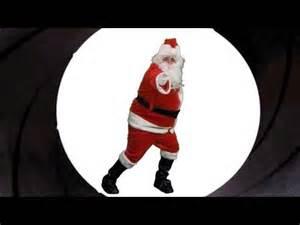 santa santa claus spoofs james james bond the twist gossip