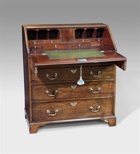 secretaire baise bureau antique mahogany bureau faded mahogany bureau bureau