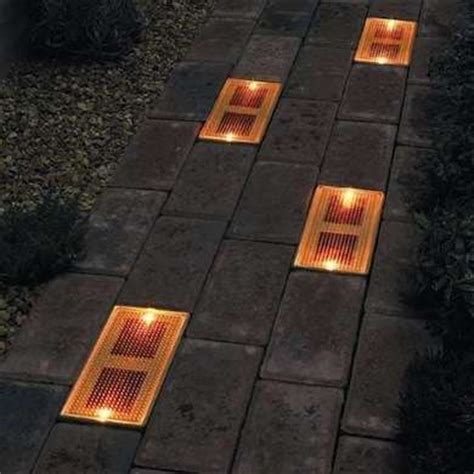 solar brick lights diy backyard lighting ideas to brighten up your landscape