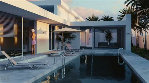 Blender 3d Architecture  By Dee Van Hoven By Dee