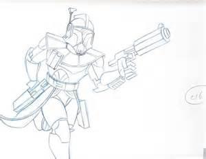 Star Wars Clone Drawings
