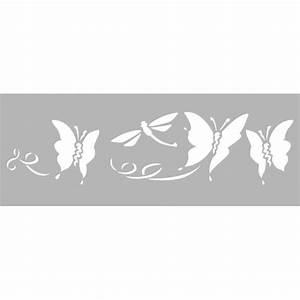 Pochoir Peinture Murale : pochoirs frise ~ Premium-room.com Idées de Décoration