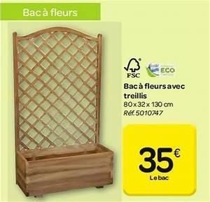 Jardiniere Avec Treillis Carrefour : carrefour promotion bac fleurs avec treillis produit ~ Dailycaller-alerts.com Idées de Décoration
