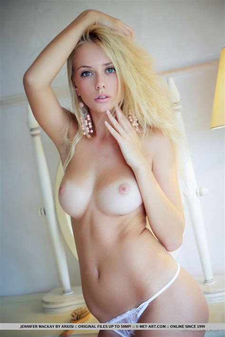 Met Art Hot Blonde Chick Jennifer Mackay Baring Nice