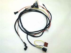 1967 67 Chevelle El Camino Engine Starter Wiring Harness