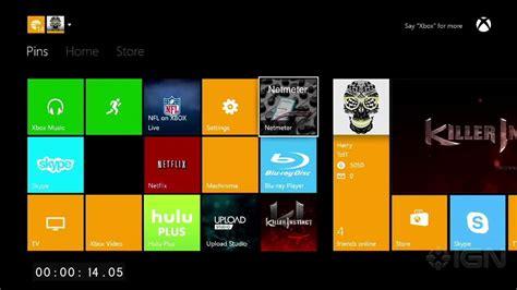 Xbox One Dashboard Walkthrough