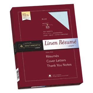 southworth sourd18bcfln 100 cotton linen resume paper