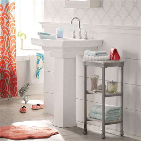 bathroom sink storage ideas pedestal sink storage ideas midcityeast
