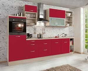 Küchen Online Shop : k chenzeile rot teresa online kaufen k chen quelle ~ Frokenaadalensverden.com Haus und Dekorationen