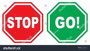 Stop And Go : vector illustration sign stop go stock vector 274380323 shutterstock ~ Medecine-chirurgie-esthetiques.com Avis de Voitures