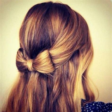 peinados faciles  pelo largo primavera verano  blogmujerescom