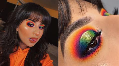 colorful eyeshadow tutorial james charles  morphe