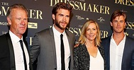 The Hemsworth Family at The Dressmaker Australian Premiere ...