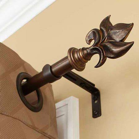 Better Homes And Gardens Curtain Rods by Better Homes And Gardens Botanical Curtain Rod Rubbed