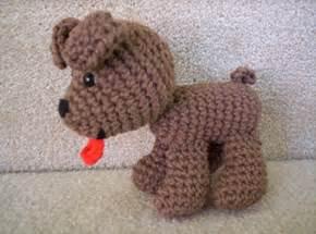 Free Crochet Amigurumi Pattern Puppy Dog