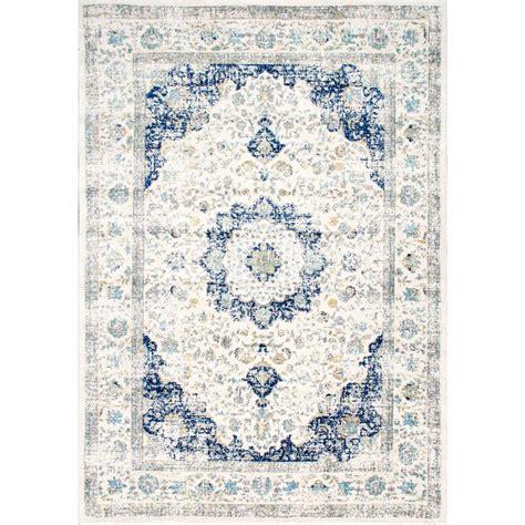 Area Rug Blue by Nuloom Verona Blue 9 Ft X 12 Ft Area Rug Rzbd07a 9012
