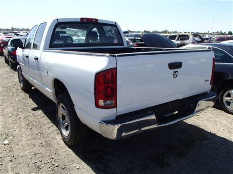 2005 Dodge Ram 1500 Parts by Used Parts 2005 Dodge Ram 1500 2wd 4 7l V8 Engine 5 45rfe