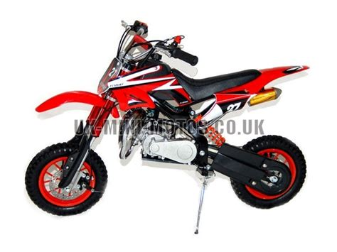 Mini Dirt Bike Db02c Red