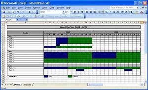 Project Work Plan Templates Officehelp Template 00031 Calendar Templates 2005