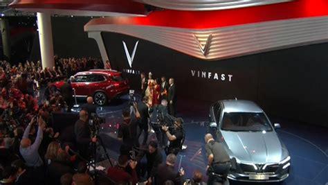 Ôtô Vinfast Trình Làng Paris Motor Show 2018