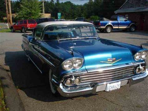 1958 Chevrolet Impala For Sale On Classiccarscom 46