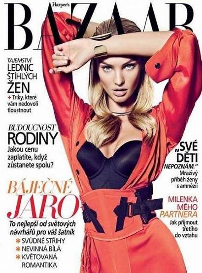 Bazaar Models Harpers Magazine