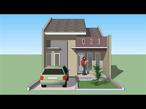 Sketchup Tutorial Membuat Rumah Lantai Youtube