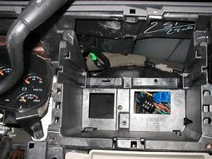 Conversion Of Stock 2000 Gmt800 Dash To Double Din