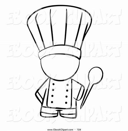 Chef Clipart Cooking Baking Hat Clip Outline