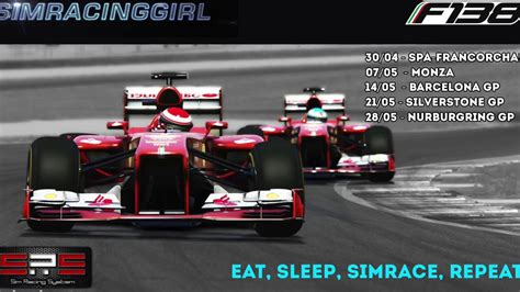 sim racing system simracing assetto corsa f138 league by sim racing system