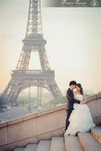 Paris Eiffel Tower Wedding Shoot