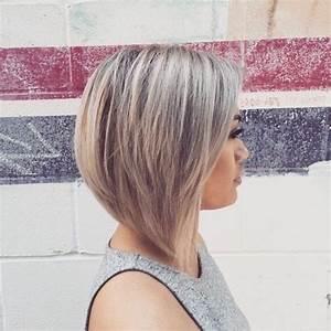 Carré Plongeant Avec Meche : coiffure carre avec balayage coiffures populaires 2019 ~ Louise-bijoux.com Idées de Décoration