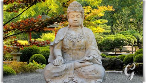 Grosser Buddha Für Den Garten by Gro 223 Er Buddha Sitzend Steinskulptur Sila Gartentraum De