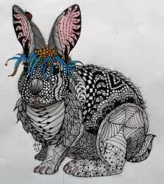Zentangle Animal Patterns