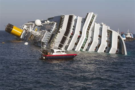 Cruise Ship Sinking Italy by Costa Concordia One Year Ago Cruise Critic Message
