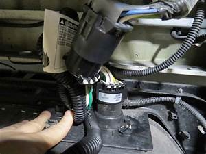 2008 Chevrolet Silverado Curt T-connector Vehicle Wiring Harness For Factory Tow Package
