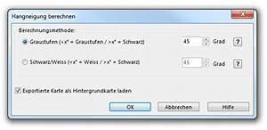 Hangneigung Berechnen : dhm ocad 11 wiki deutsch ~ Themetempest.com Abrechnung